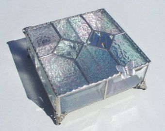 Music Boxes Stained Glass Music Box Your Choice of by KeiberGlass