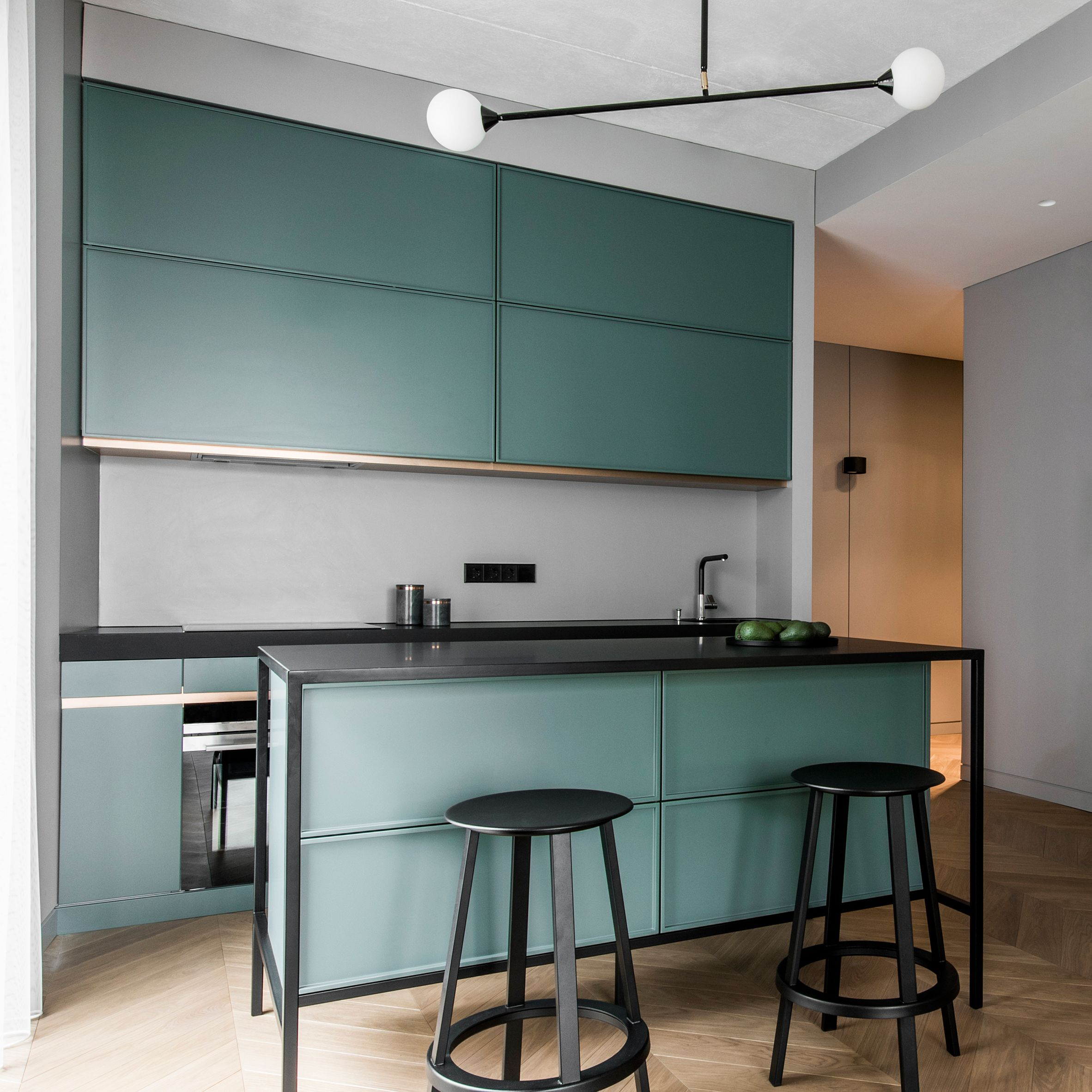 Basanaviciaus Apartment Akta Colour Blocking Pinterest Dezeen Col Kitchen Decor Apartment Kitchen Design Trends Interior Design Kitchen