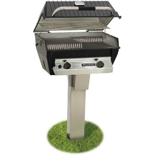 Broilmaster R3bn Infrared Combination Natural Gas Grill On Stainless Steel Inground Post For More Information With Images Natural Gas Grill Propane Gas Grill Gas Grill
