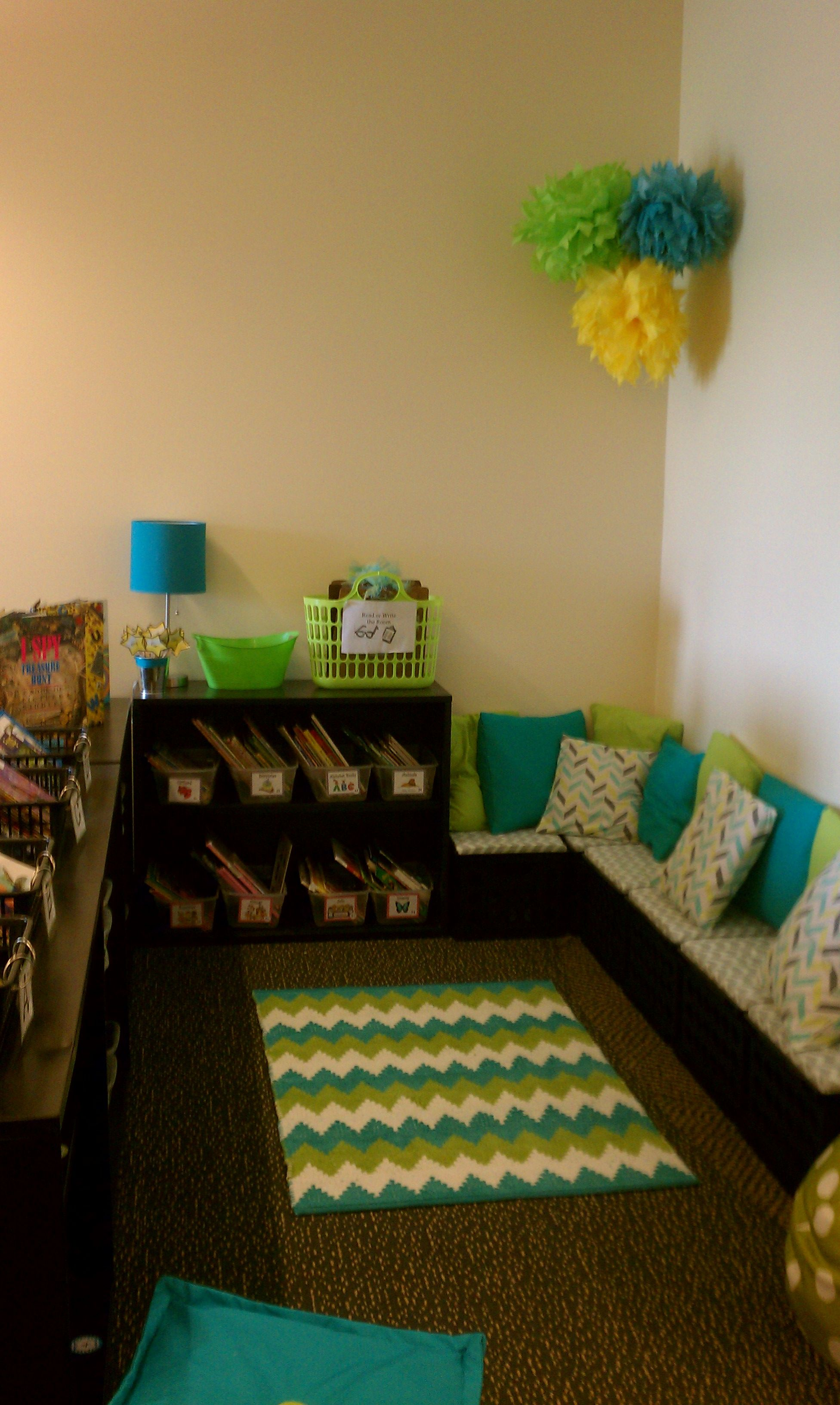 Kindergarten Reading Corner Classroom Pinterest