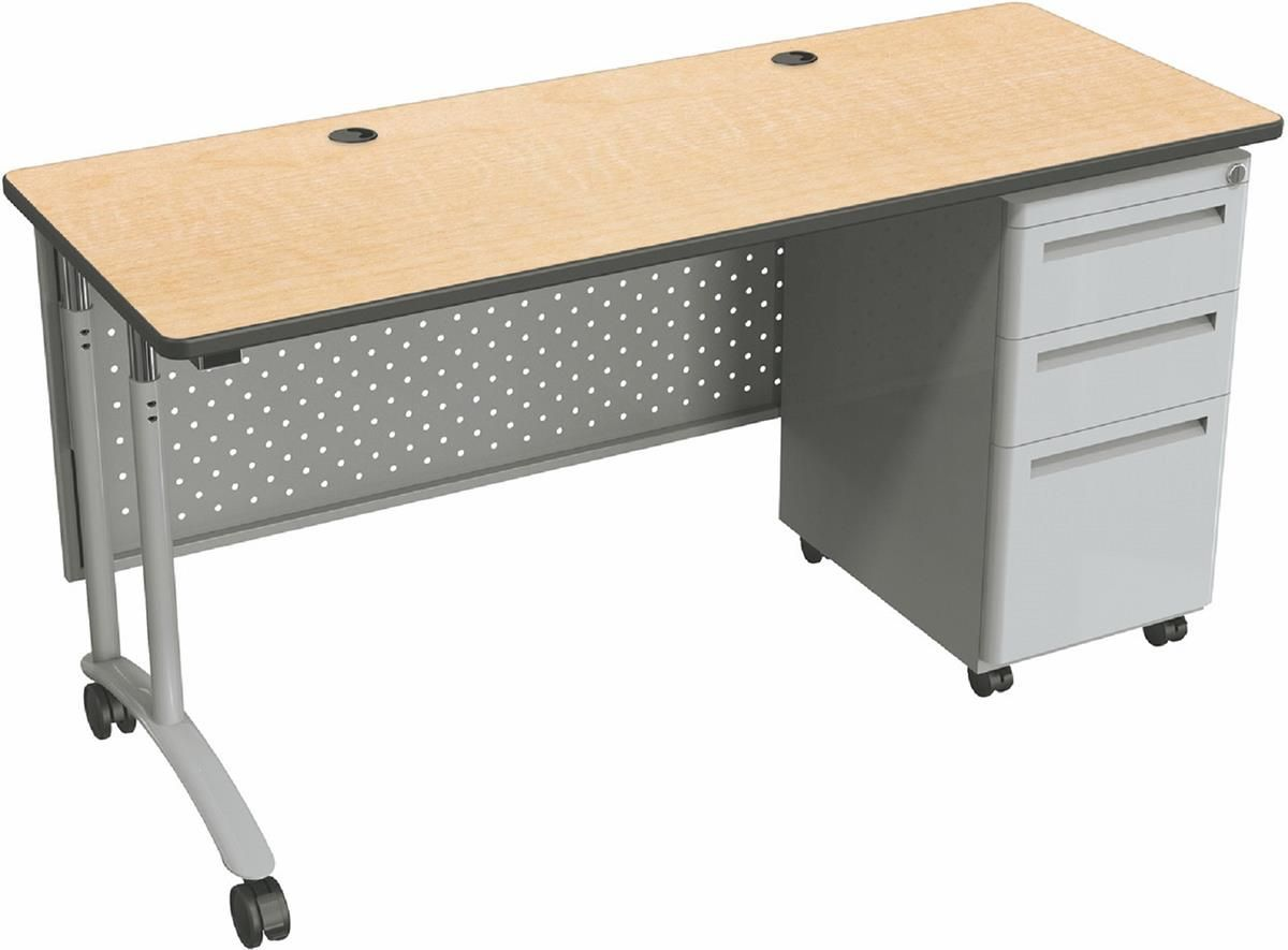 Varidesk exec 40 review varidesk pro desk 60 darkwood review workfit t - 60 Mobile Sit Stand Desk Height Adjustable 3 Drawers Modesty Panel