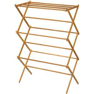 Home Wooden Clothes Drying Rack Drying Rack Laundry Wooden