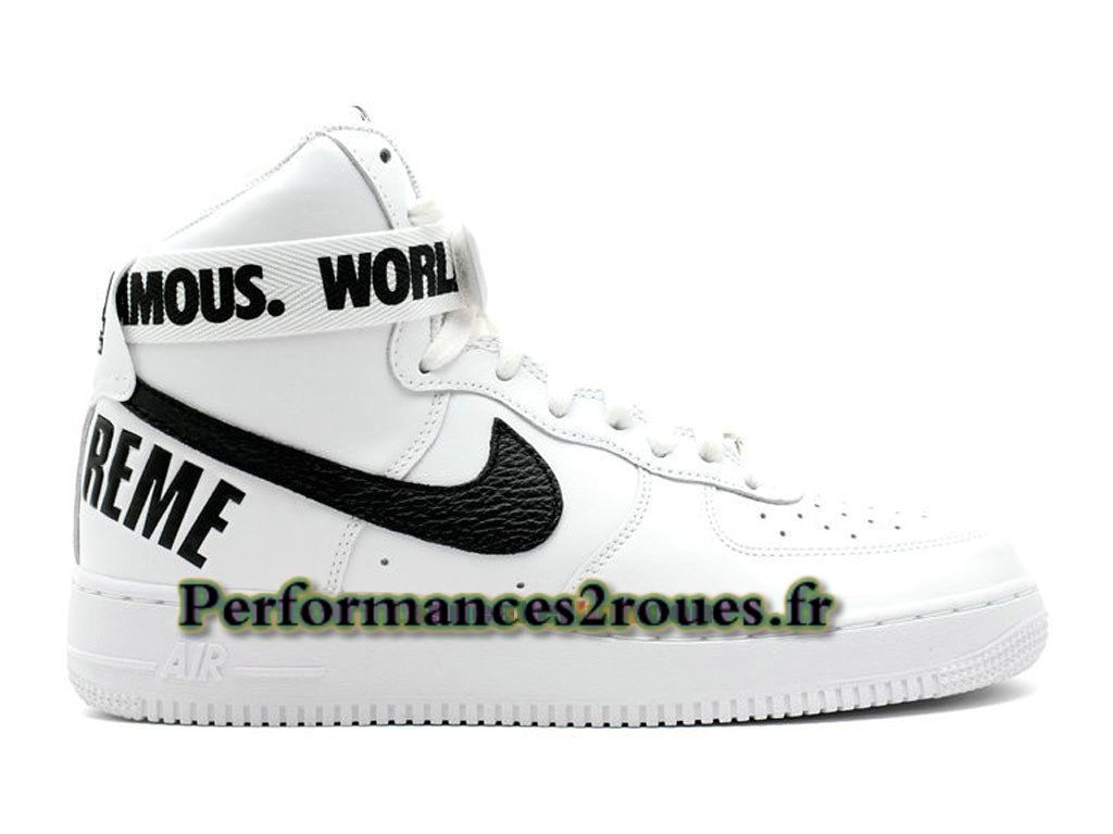design de qualité 28b71 ac35c Nike X Supreme Air Force 1 High GS Chaussures Nike Officiel ...