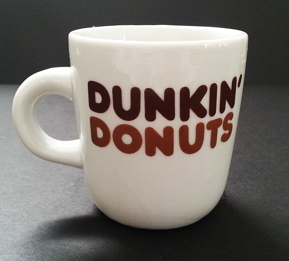 Dunkin Donuts Mug Vintage Logo 8 oz Counter Coffee Tea