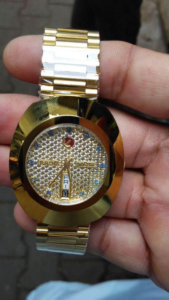 Rare Vintage Gents Men Rado Diastar Day Date 2836 Swiss Wrist Watch Golden Color Radodiastarautomatic2836 Luxurydr Wristwatch Men Wrist Watch Vintage Watches