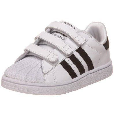 adidas Originals Superstar 2 Comfort Sneaker M US Toddler. Hook \u0026 loop  straps for easy on/off. Breathable mesh lining. Herringbone-pattern rubber  outsole ...