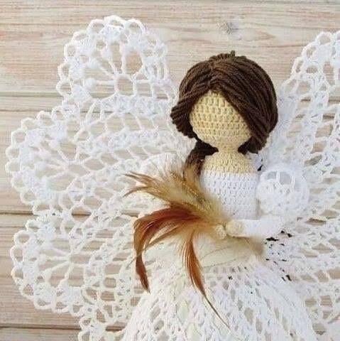 diese wunderbaren gehkelten engel macht man einfach selber mit diesem gratis muster diy bastelideen - Ngel Muster Selber Machen