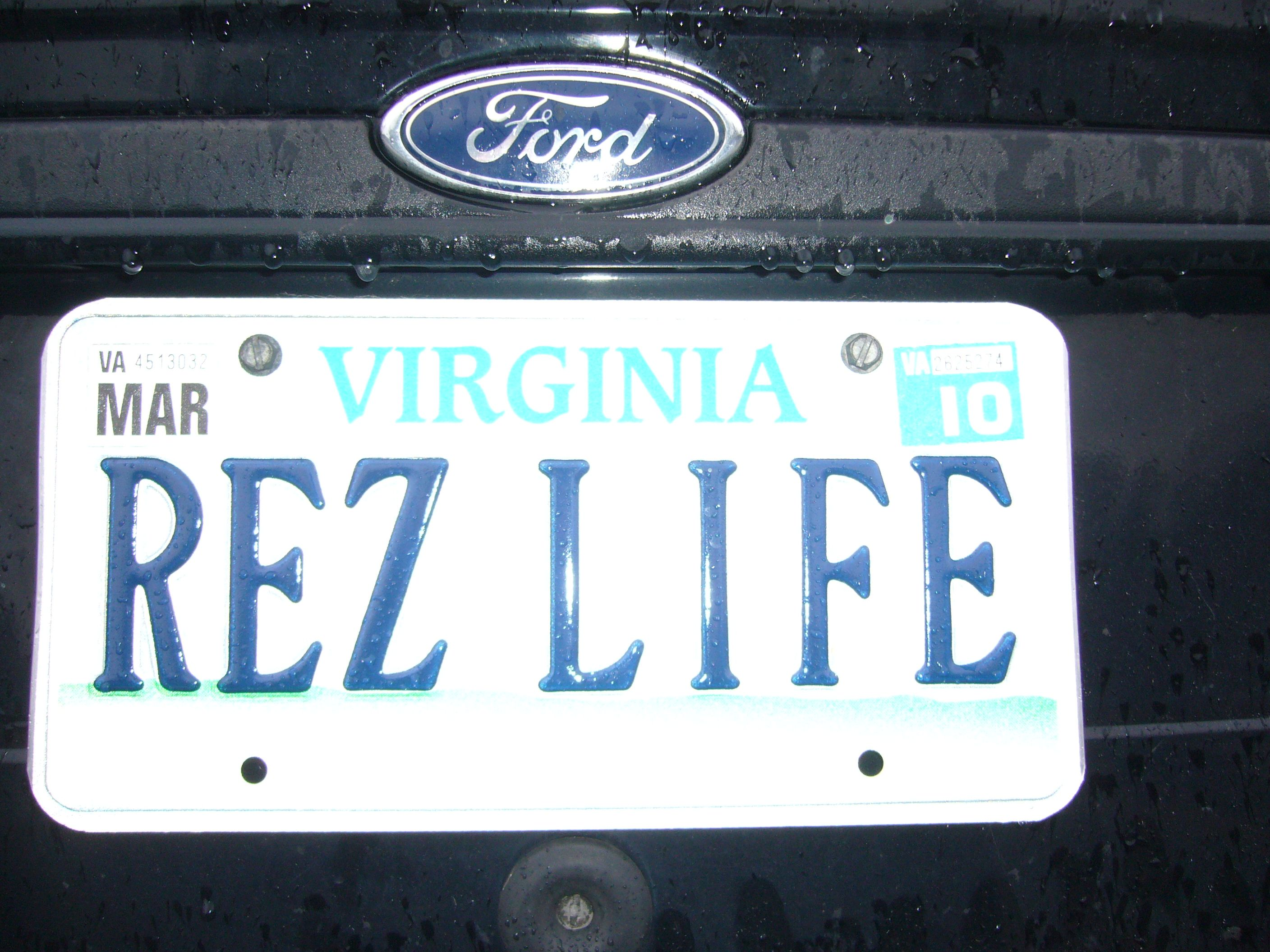 Don't have the Ford any more, but still have the plate. :)