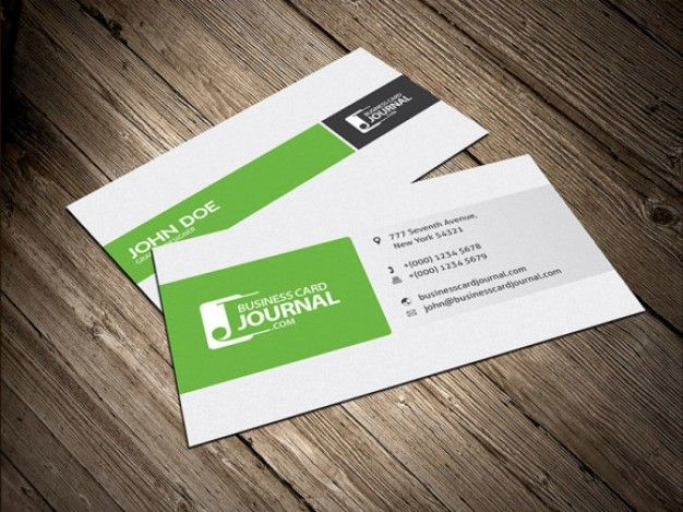 Spalten Layout Visitenkarte Design Kostenlose Psd Business