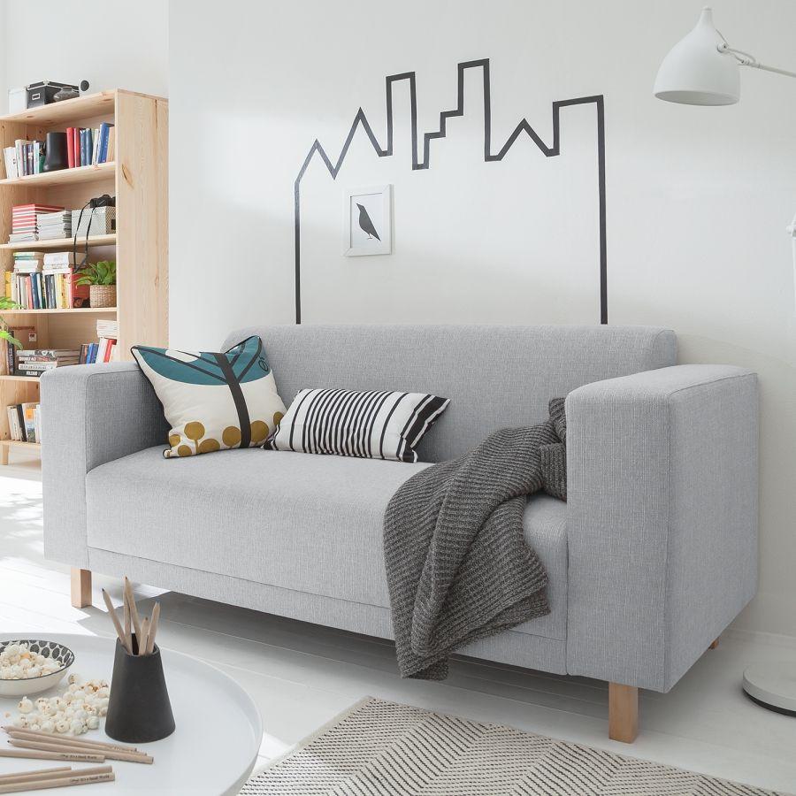 Affiliatelink Sofa Kiydoo Relax 2 Sitzer Webstoff Skandinavisch Design Minimalistisch Einrichtung Deko Schlichte Wa Haus Deko Sofa Jugendzimmer Sofa