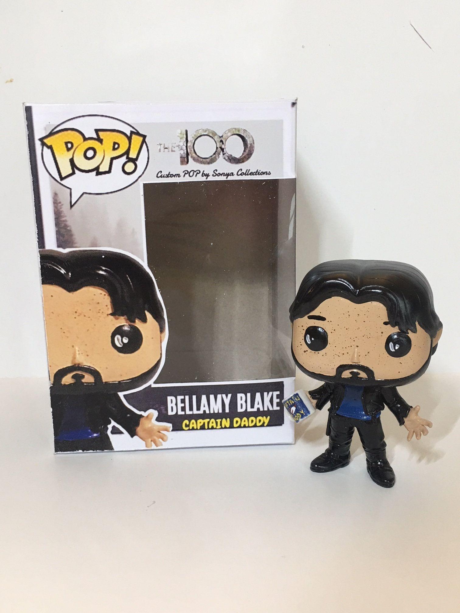 The 100 Clark The CW inspired Peg Dolls Bellamy