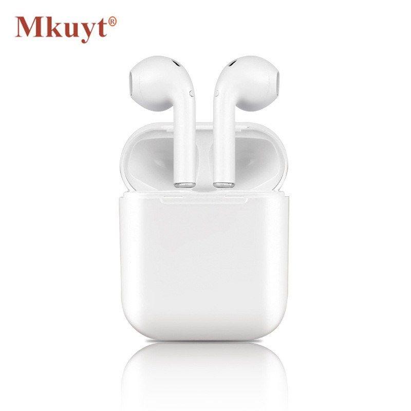 Cheap MKUYT I9S Wireless Earphone Portable Bluetooth Headset