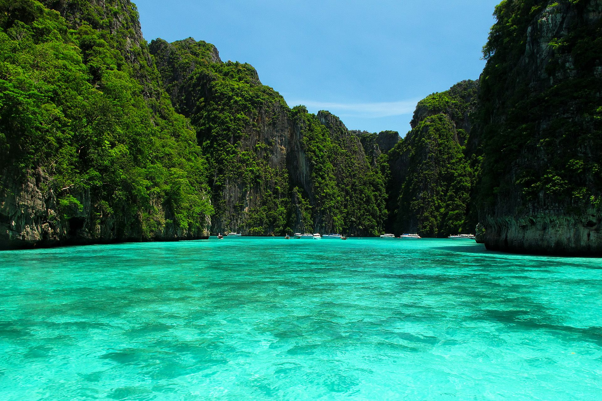 A Great Day At Phi Phi Islands Island Tour Phi Phi Island Krabi Town