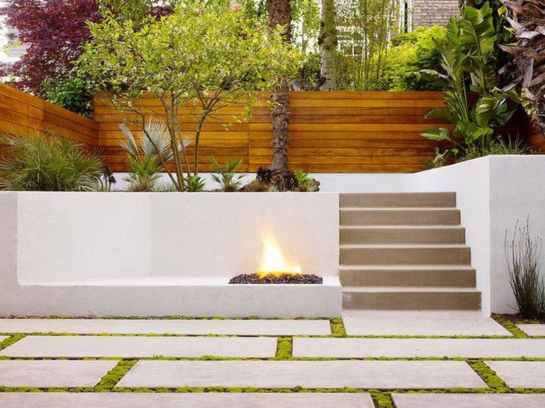 beautiful minimalist backyard landscaping design ideas on a