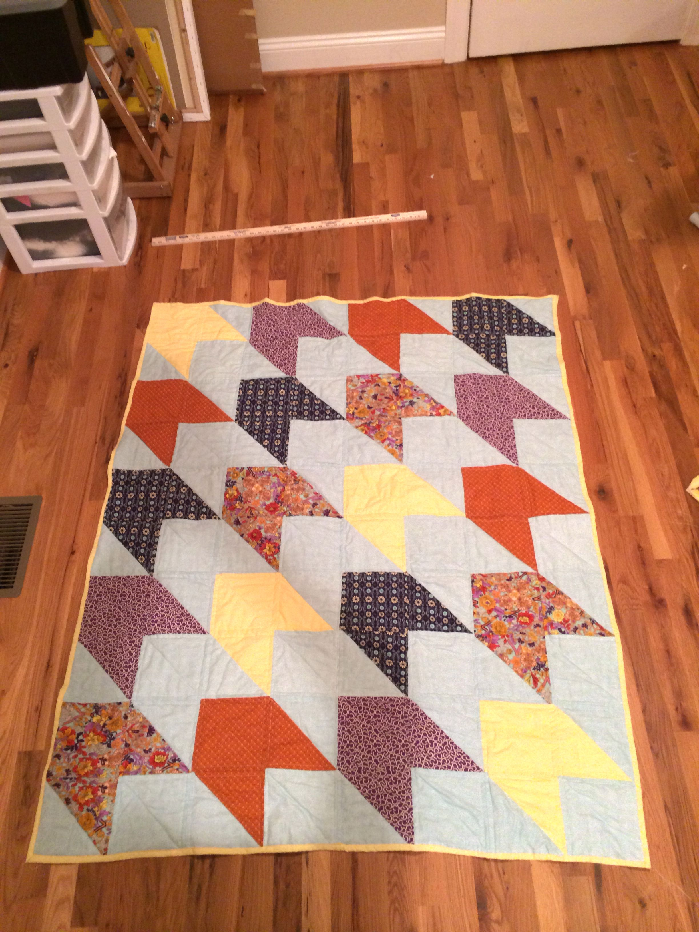 Finished Lap of Luxe quilt. Pattern by quilt dad. Made for my ... : quilt dad patterns - Adamdwight.com