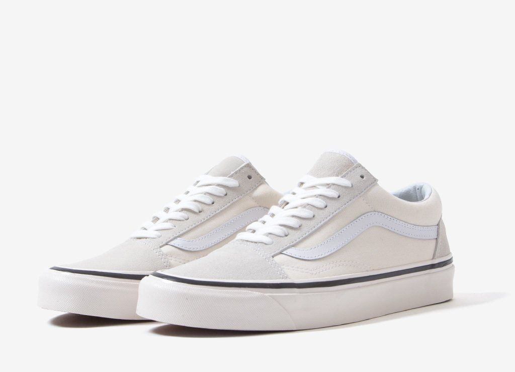 c8b77f1b2d5 Vans Old Skool 36 DX 'Anaheim Factory' Shoes - Classic White in 2019 ...