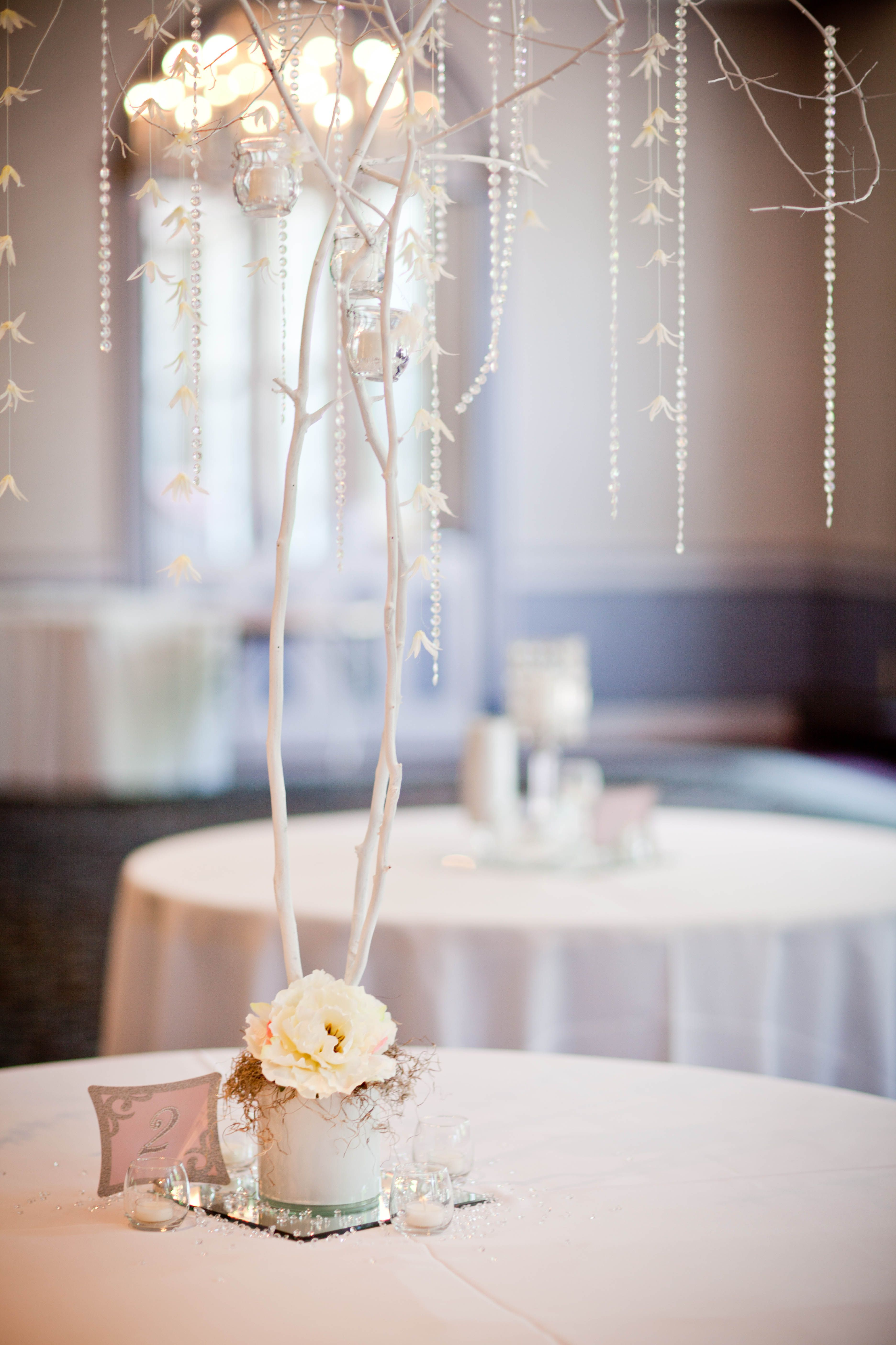 Tree Centerpieces- homemade! | *Wedding* | Pinterest | Trees and ...