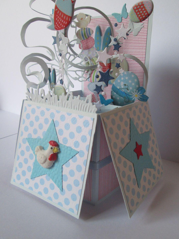 carte 3d pop up pour p ques cartes par les petits papiers de marie card making embossing. Black Bedroom Furniture Sets. Home Design Ideas