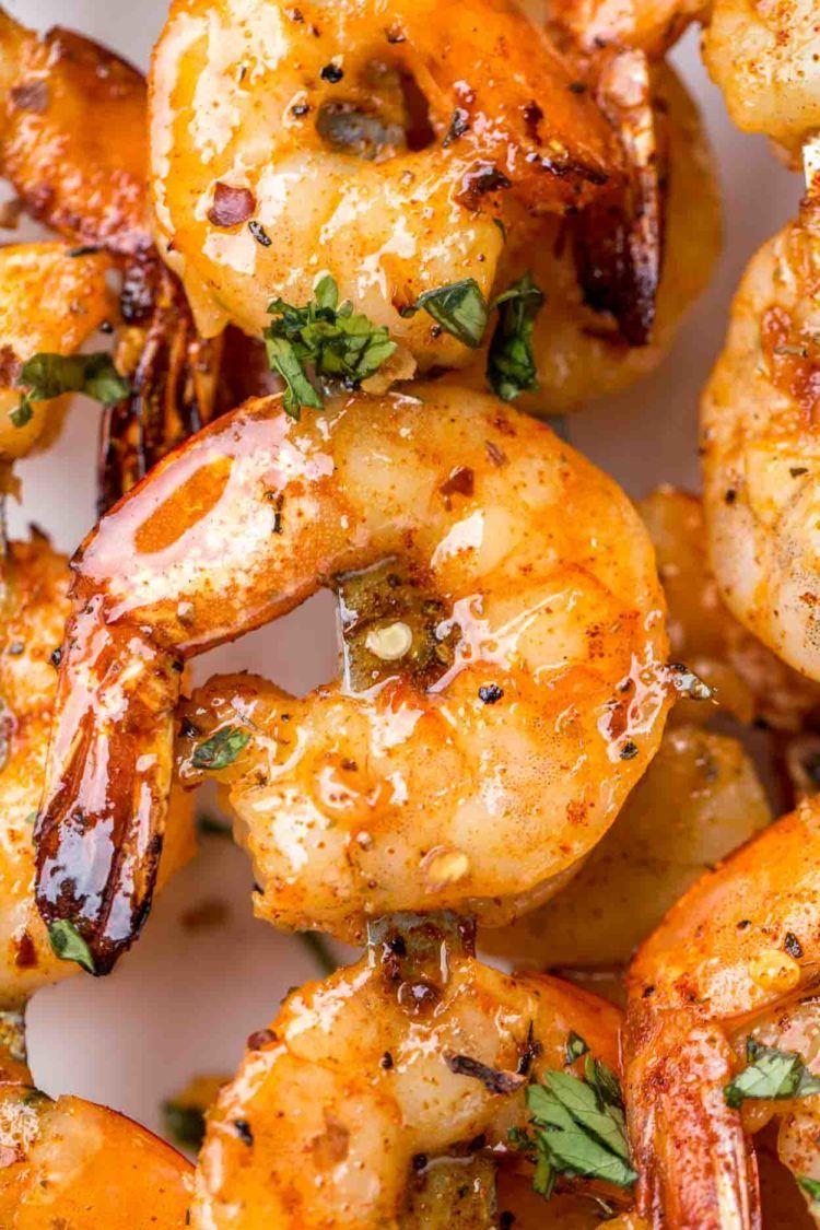 Grilled Shrimp Recipe in the BEST marinade - Valentina's Corner