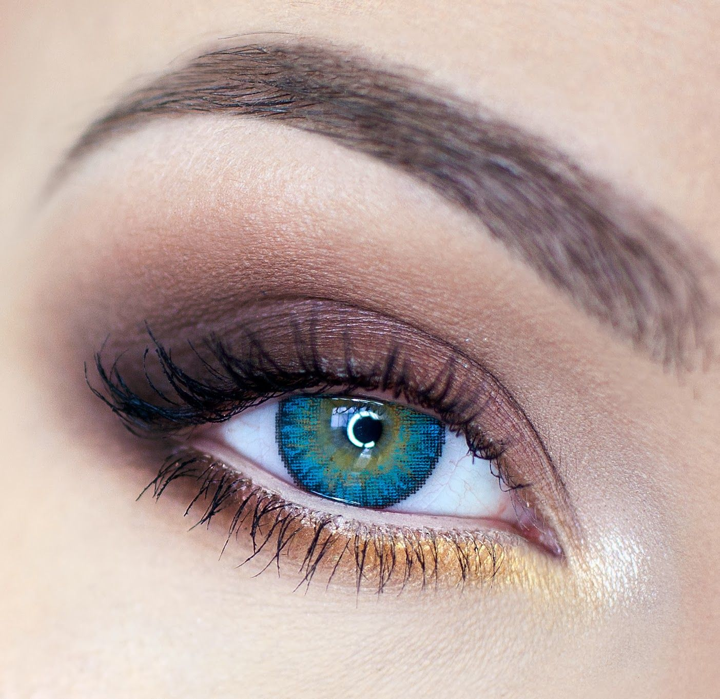 FreshLook ColorBlends Turquoise cosmetic contact lenses