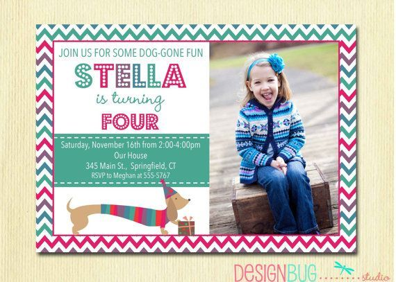 Download 4 Years Old Birthday Invitations Wording Party Free Photo Invitation