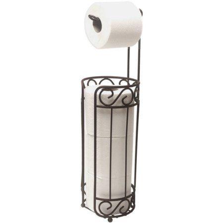 Home Basics Bronze Toilet Paper Holder And Dispenser Bathroom Free Standing Toilet Paper Holder Bronze Toilet Paper Holder Toilet Paper Holder Dispenser