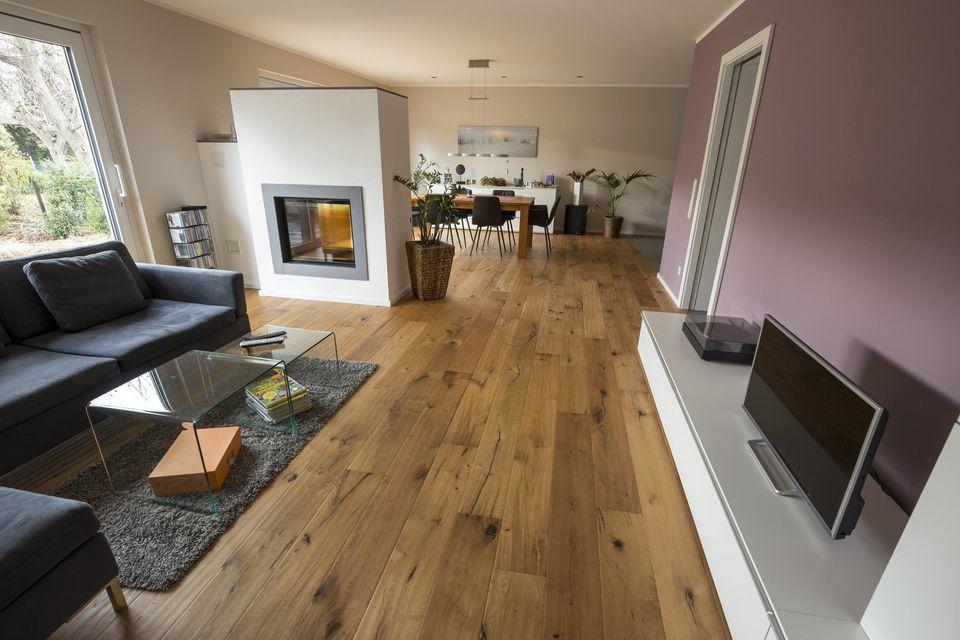 Parkettboden Eiche Camino - Holz-Zentrum Schwab Wohnzimmer