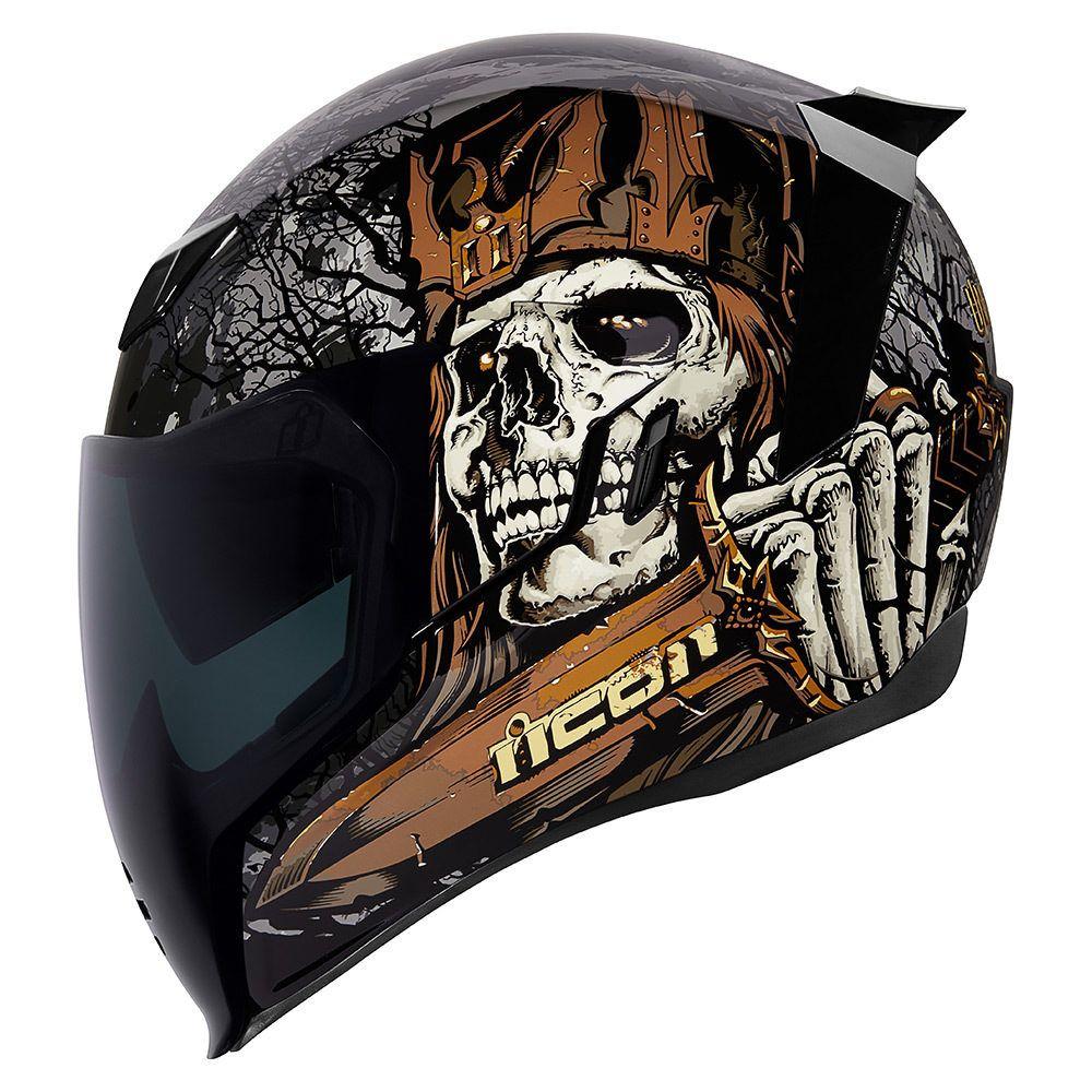 Uncle Dave Black Helmets Icon Motosports Ride