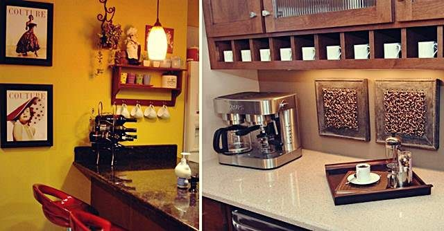 Coffee Bar Setups Add Personality To Your Kitchen Dining Hope