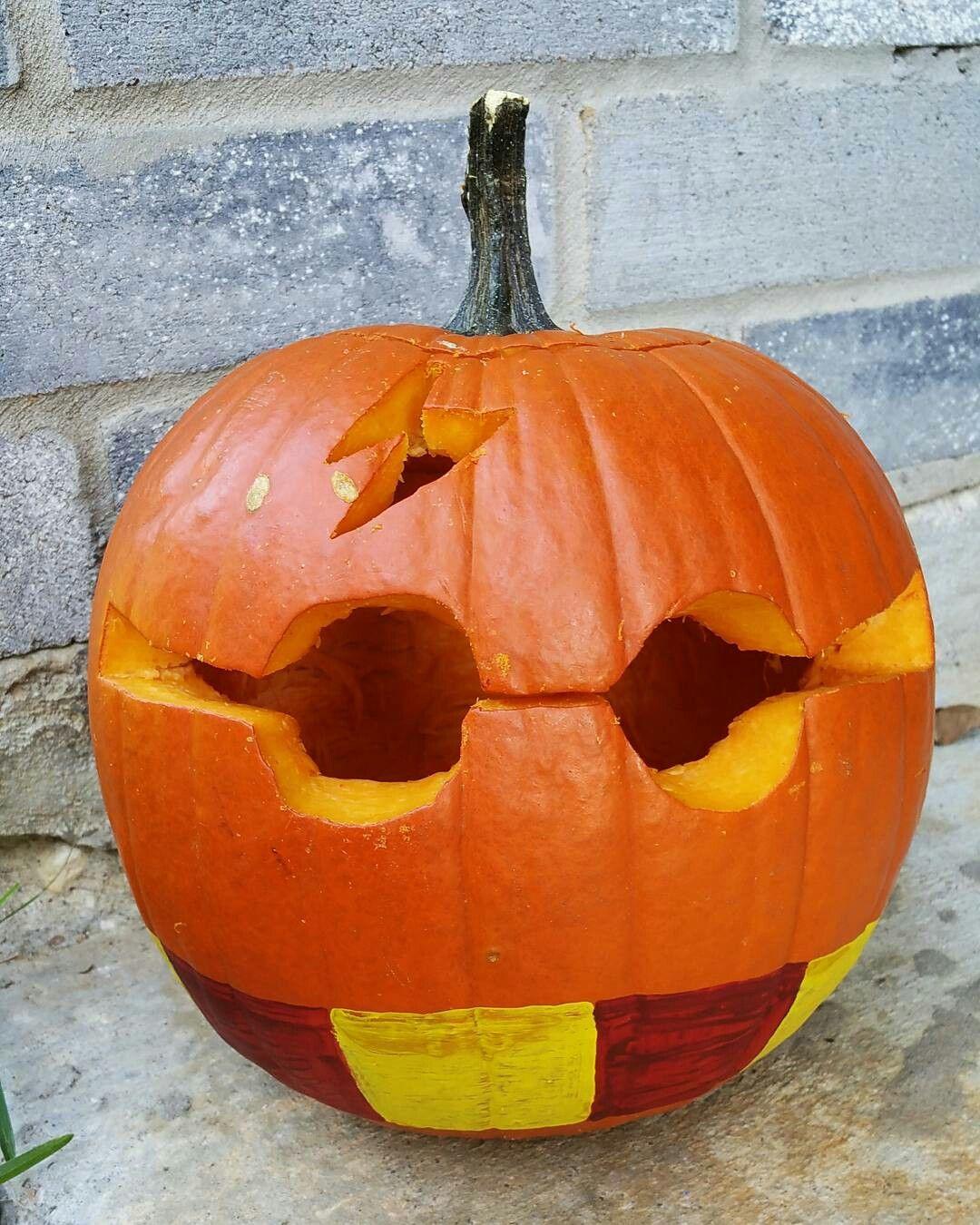 Harry Potter pumpkin carving! Harry potter pumpkin