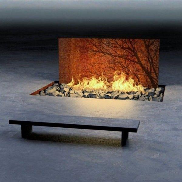 Unique and Gorgeous ways to display Fire Natursteine, Garten ideen - feuerstelle garten naturstein