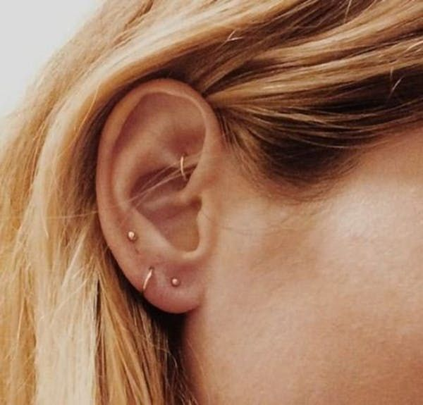 10 beautiful constellation and astronomy ear piercings, from cuffs to studs