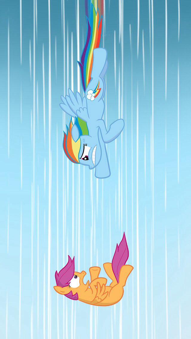 Won T Let You Fall Rainbow Dash Amp Scootaloo Rainbow Dash Little Pony My Little Pony Friendship Scootaloo tells rainbow dash she just wants to be taken under her wing. scootaloo rainbow dash little pony