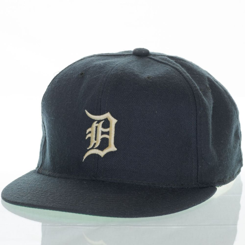 6c571187535d7 Detroit Tigers New Era Vintage Hat Fitted 7 1 4 Diamond Collection MLB Pro  Model