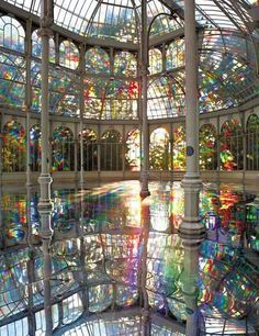 Reflecting pool.  Hearst Castle. I can see little girls in their tu tus dancing all over this beautiful floor
