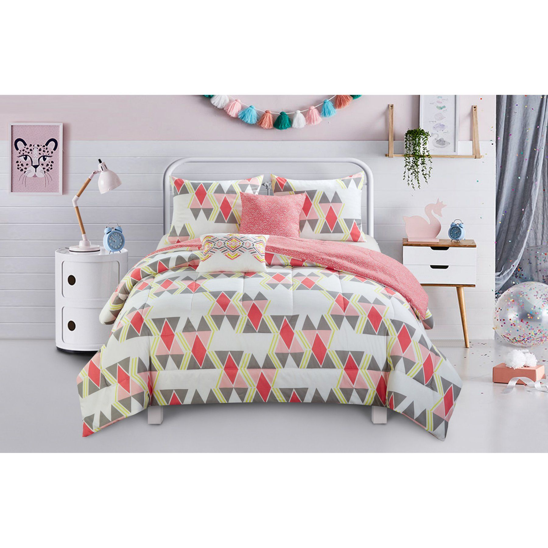 Scattered Diamond Comforter Set by Better Homes and