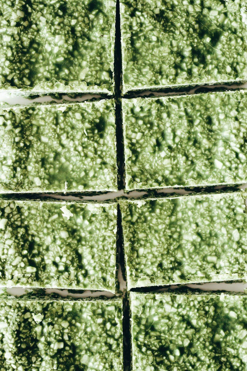Matcha coconut bars recipe in 2020 with images