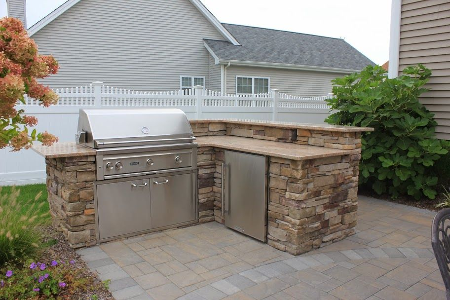 custom masonry cultured natural stone veneers with images backyard kitchen outdoor on outdoor kitchen natural id=14931