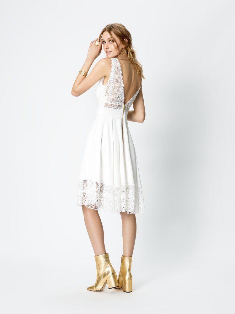 Rembo Styling Brautkleid - White Stripe | Brautkleider | Pinterest