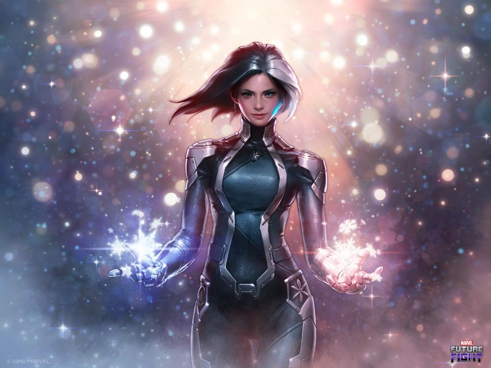 Artstation Luna Snow Jeehyung Lee Marvel Future Fight Superhero Art Marvel Entertainment