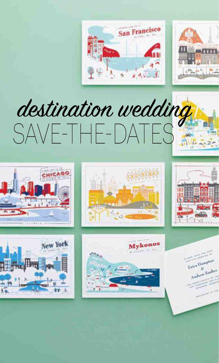 22 Unique SavetheDates for Your Destination Wedding