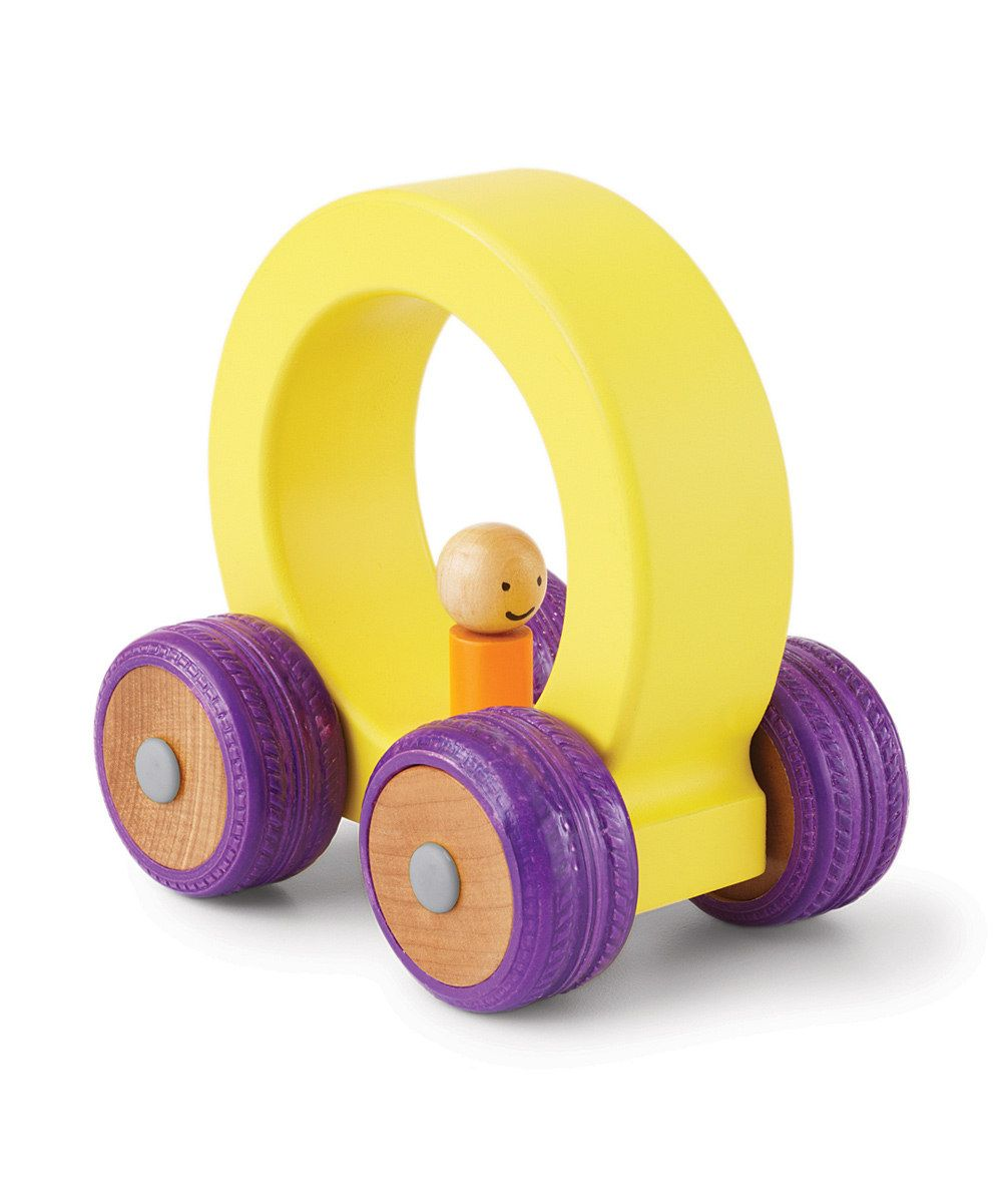 This Yellow & Purple Ready, Set, Go! Car by Parents by