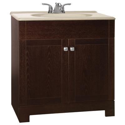 American Classics 30 Java Vanity Bathroom Vanity Combo Solid