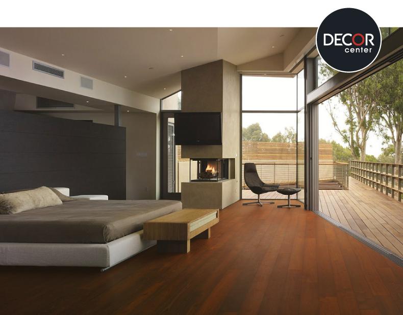 Dormitorio principal con piso de madera estructurado for Piso 0 salas de estudo e atl