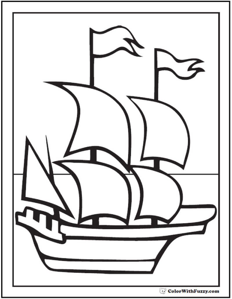 Printable Boat Coloring Pages Coloring Pages Free Coloring
