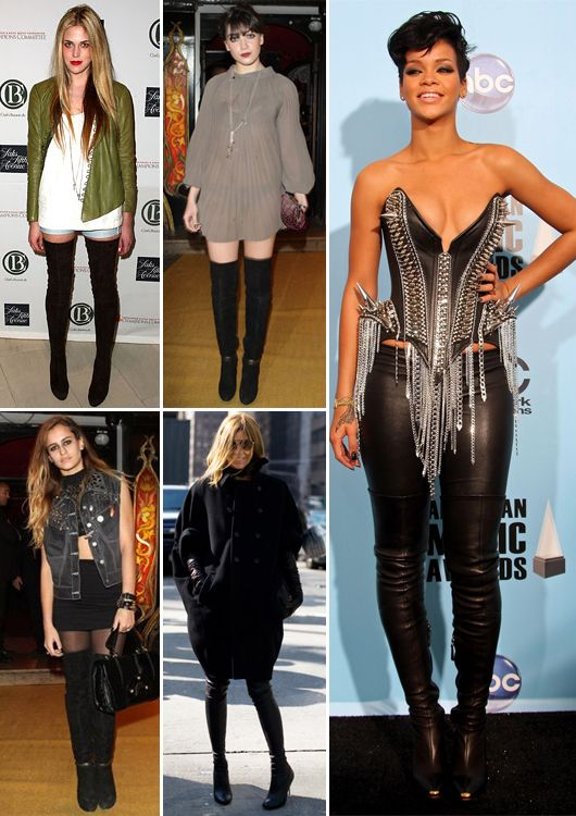 Thigh High Boots, The Newest Fashion Trend | High boots and Thighs