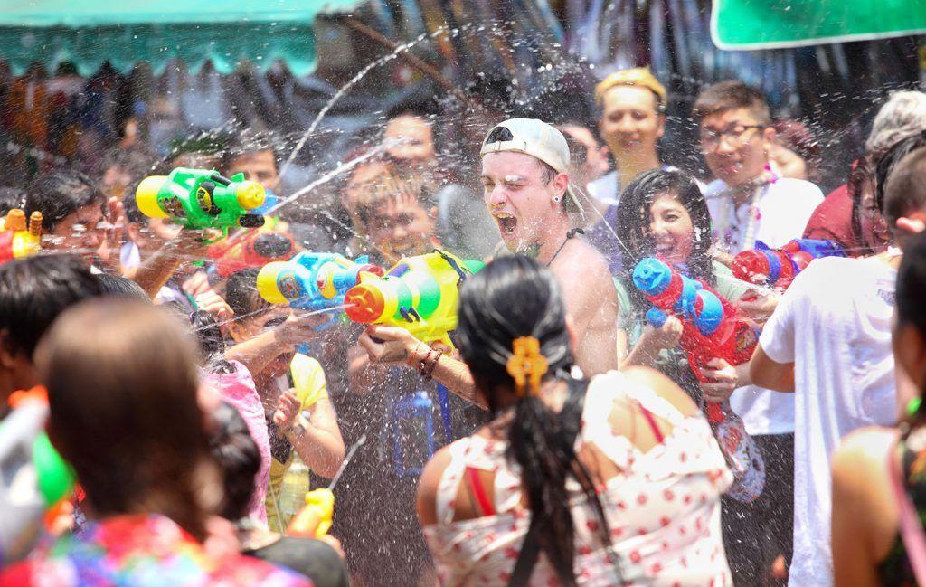 THAILAND (13 15 April) Songkran Festival (Thai New Year
