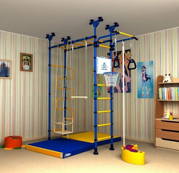 Kids jungle gym playroom room furniture ideas cool