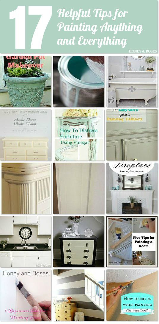 DIY 17 Painting Hacks That Will Allow You To Paint Anything And Everything!