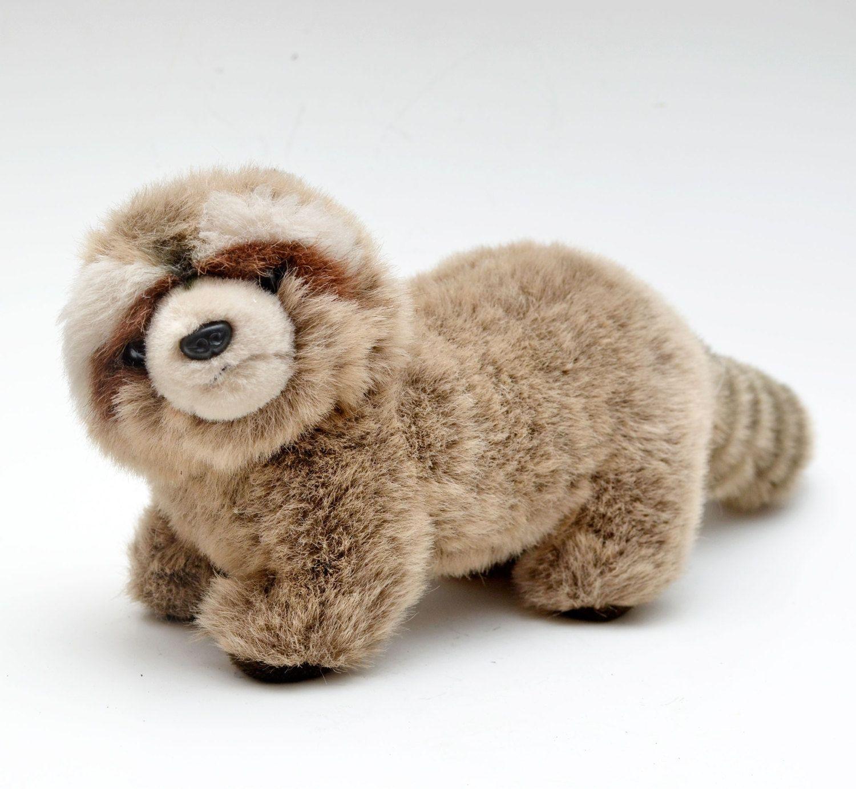 "Vintage GUND Raccoon 1987 ""Mischief"" Style #2415  Stuffed Animal Plush Toy by vtgwoo on Etsy"